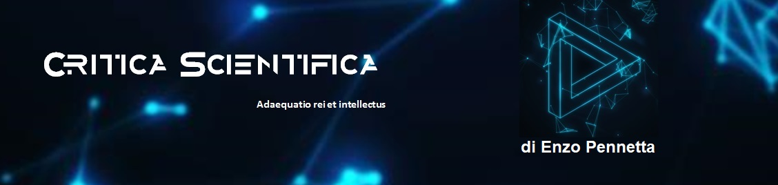 Critica Scientifica – di Enzo Pennetta