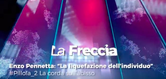 """Enzo Pennetta: """"La corda sull'abisso"""""""