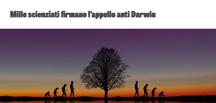 Il darwinismo fugge il confronto con le critiche: per quanto ancora sarà possibile?