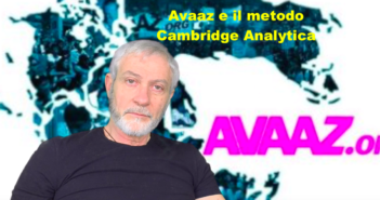 Avaaz e il metodo Cambridge Analytica