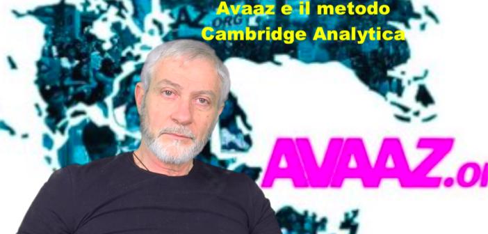 Avaaz e il metodo Cambridge Analytica