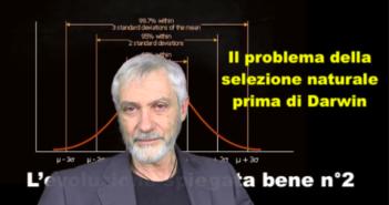 Storia del darwinismo 2: il problema della selezione naturale